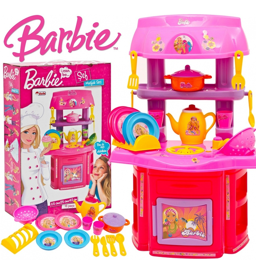 Barbie Glam Kitchen Set: Kitchen Set Toys Barbie