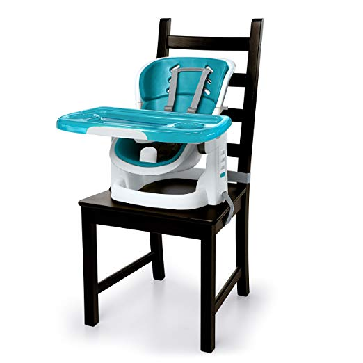High Chairs And Boosters Ingenuity SmartClean ChairMate High Chair, Peacock  Blue
