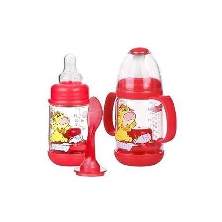 Nuby 2 Pack Nurtur Care Infa Feeder Set 4 Oz Infant