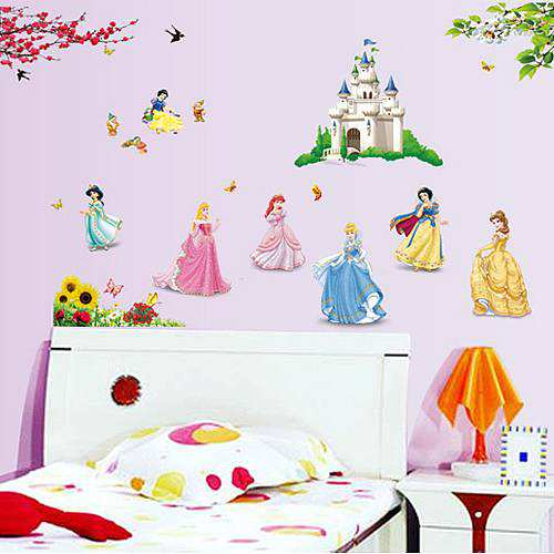 Disney Fairy Princess Peel and Stick Wall Decals | Monmartt