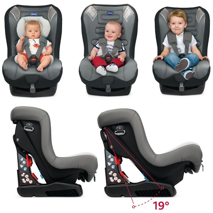 Chicco Eletta Comfort B Car Seat